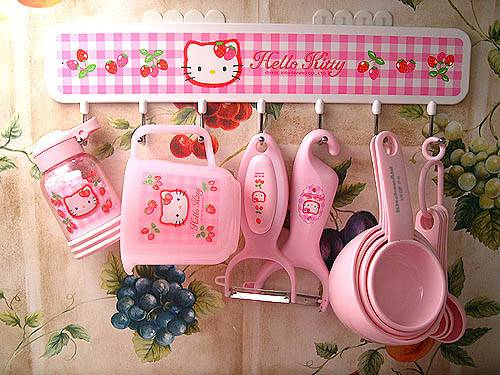 cute kitchen hello kitty